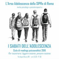 I sabati dell'adolescenza: Reading psicoanalitico 2018