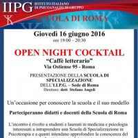 Open Night Cocktail (IIPG Roma)