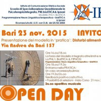 OPEN DAY - Disturbi alimentari