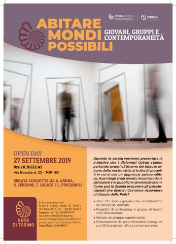 COIRAG - Open day